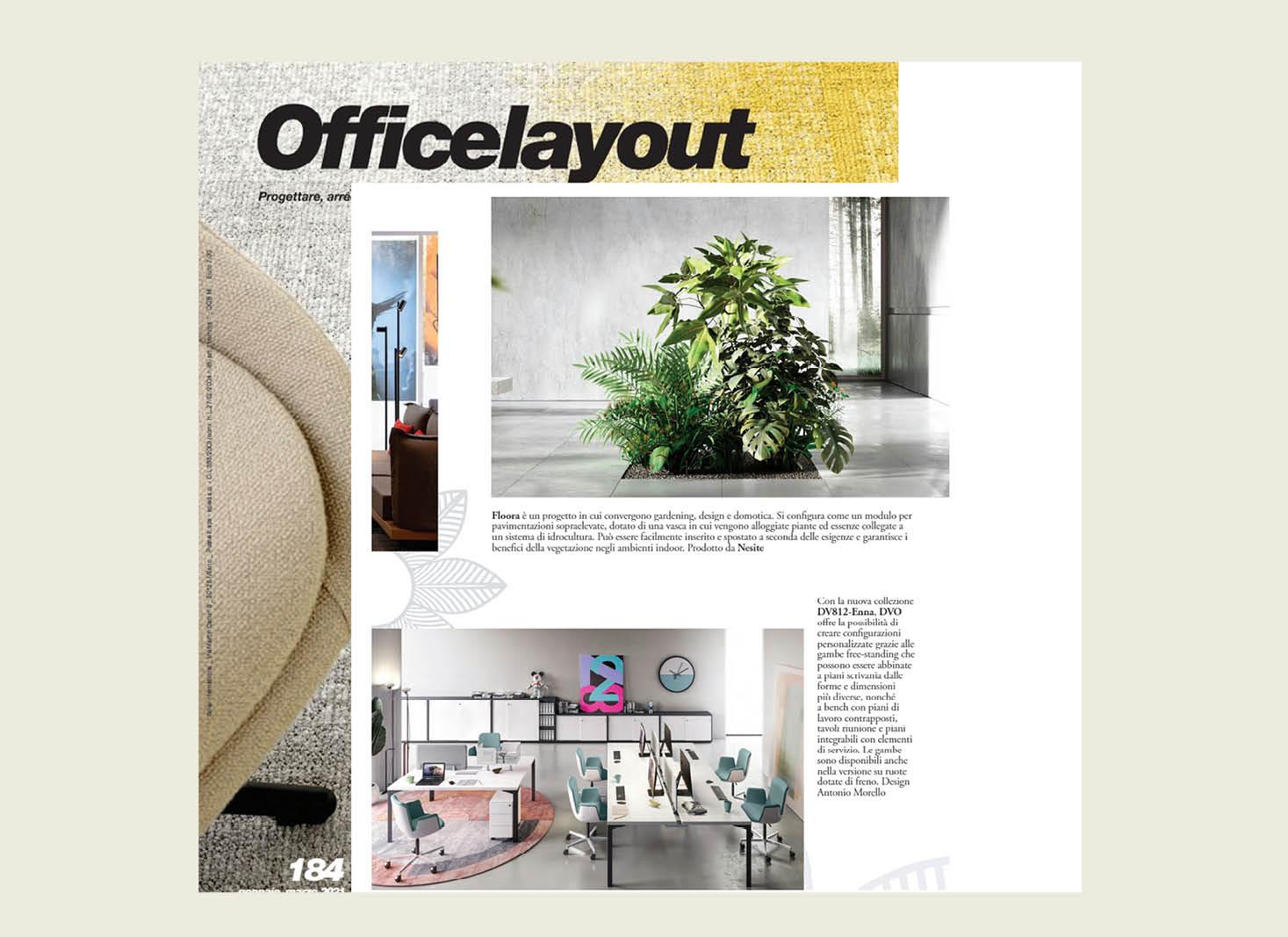 Floora - Officelayout no.184